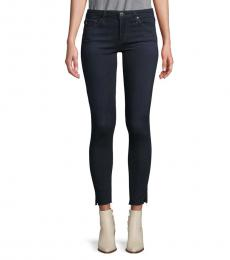 AG Adriano Goldschmied Blue Super Skinny Ankle Jeans