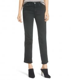 AG Adriano Goldschmied Dark Ivy Isabelle High Waist Jeans
