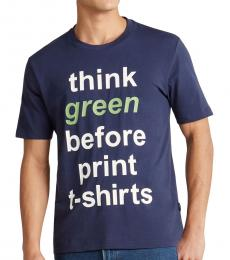 Blue Think Green T-Shirt