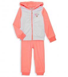 Juicy Couture 2 Piece Jacket/Pants Set (Little Girls)