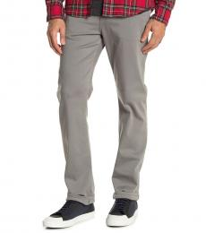 7 For All Mankind Grey Slimmy Solid Slim Jeans