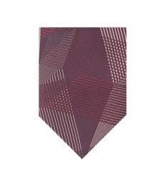 Calvin Klein Berry Macro Geo Tie