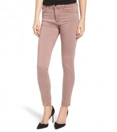 AG Adriano Goldschmied Sulfur Pale Wis Farrah High-Rise Skinny Jeans