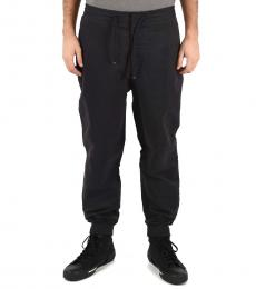Emporio Armani Dark Blue Mix Tech Pants