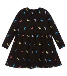 Stella McCartney Girls Black Smiles Dress