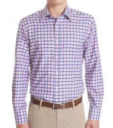 Canali Multicolor Regular Fit Plaid Shirt