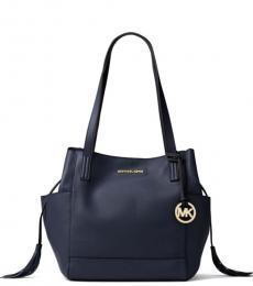 Navy Ashbury Large Tote