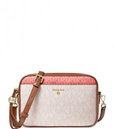 Michael Kors Pink Grapefruit Multi East West Medium Crossbody