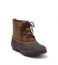 UGG Chestnut Zetik Leather Boots