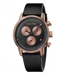 Calvin Klein Black City Chronograph Watch