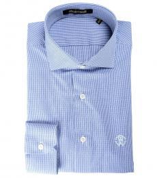 Blue Slim Dress Shirt
