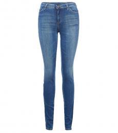 Armani Jeans Blue Regular Fit Jeans