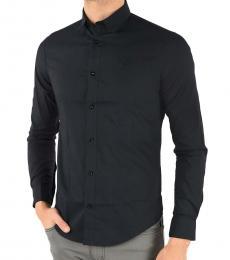 Armani Jeans Navy Blue Slim Fit Shirt