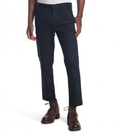 AG Adriano Goldschmied Navy Blue Payton Solid Pants