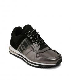 Bikkembergs Grey Black Hovan Sneakers