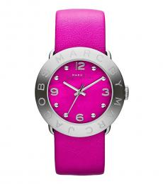 Marc Jacobs Pink Amy Dial Watch