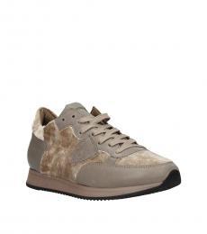 Beige Classic Sneakers
