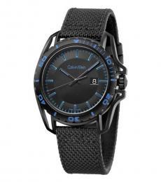 Calvin Klein Black Earth Black Dial Watch