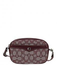 Coach Raspberry Ivie Convertible Belt Bag