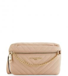 Shell Charlotte Chevron Quilted Belt Bag