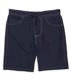 True Religion Little Boys Navy Swim Shorts