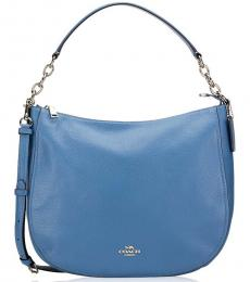 Sky Blue Elle Large Hobo