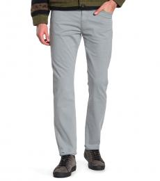 Grey Adrien Slim Straight Jeans