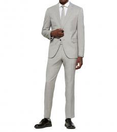 Emporio Armani Grey Wool M Line Suit