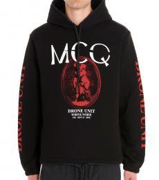 Black Cameo logo hoodie