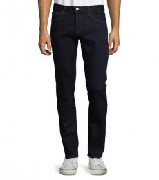 Michael Kors Dark Blue Slim-Fit Jeans