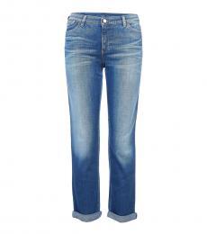 Armani Jeans Blue Daisy Slim Fit Jeans