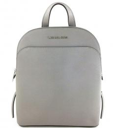 Michael Kors Pearl Gray Emmy Large Backpack