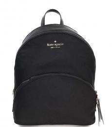 Black Karissa Medium Backpack