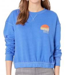 Billabong Blue Crew Neck Pullover