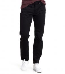Black Heritage Slim Fit Pants