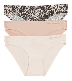 Natural 3-Pack Bonded Bikini Panty