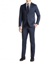 Theory Dark Blue Two-Piece Tamir Suit