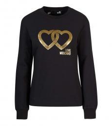 Black Heart Logo Sweatshirt