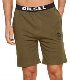Diesel Olive Lounge Shorts