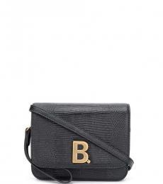 Balenciaga Black B Small Crossbody