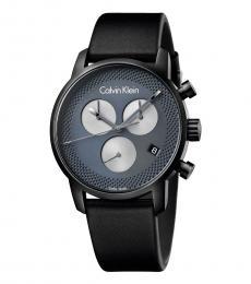 Calvin Klein Black Grey Chronograph Watch