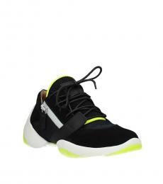 Giuseppe Zanotti Black Classic Logo Sneakers