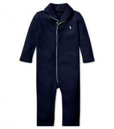 Ralph Lauren Baby Boys French Navy Coverall
