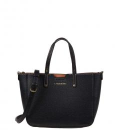 Calvin Klein Black Dilan Novelty Small Satchel