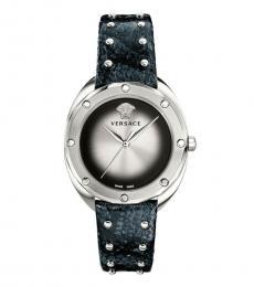 Versace Black Shadov Watch