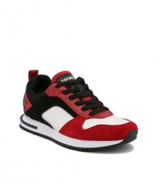 Bikkembergs Red Hector Sneakers