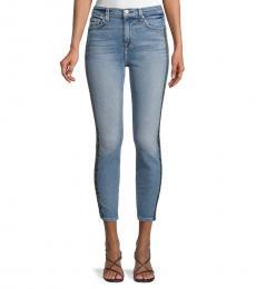 Blue Vintage High-Rise Skinny Jeans