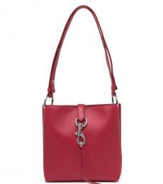 Rebecca Minkoff Red Megan Small Bucket Bag