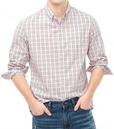 Multicolor Slim Untucked Casual Shirt