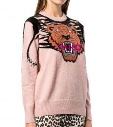 Kenzo Dusky Pink Logo Sweater